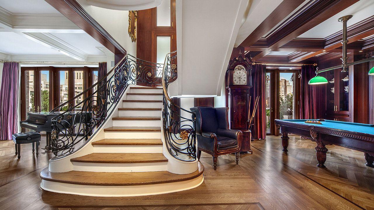 Almost 40M Duplex Apartment Hits Market on Manhattan's