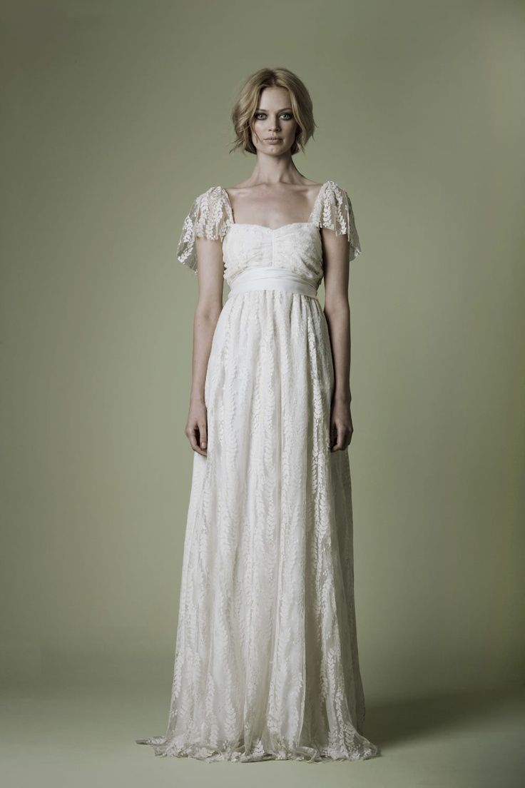 Vintage 1970s Style Gown Weddingdress