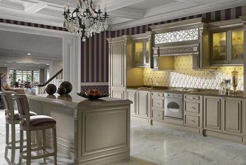 cocina-con-muebles-de-color-gris | Guille | Pinterest | Cocinas de ...