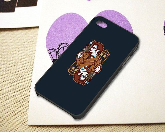 Dr Who Trump Card Case fit for iPhone 4/4S by NgeriNgeriSedap, $15.55