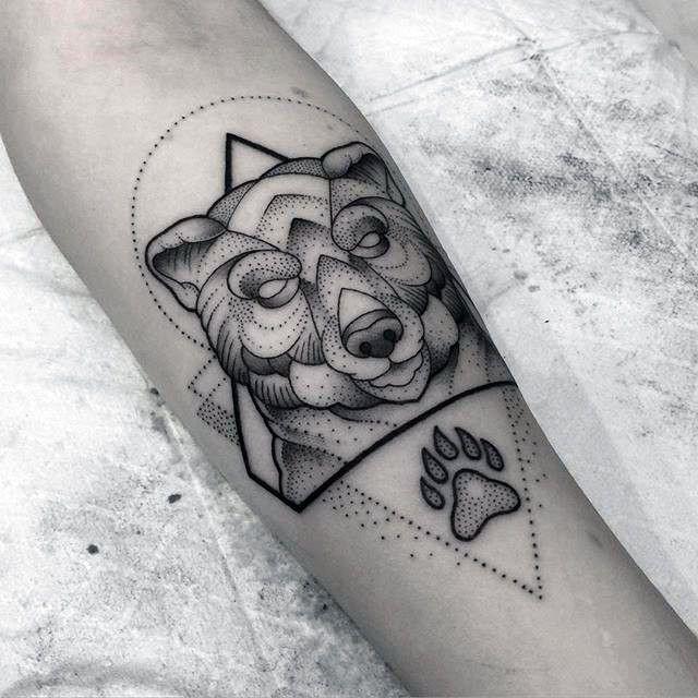 100 Bear Claw Tattoo Designs For Men - Sharp Ink Ideas | Tattoo idea ...