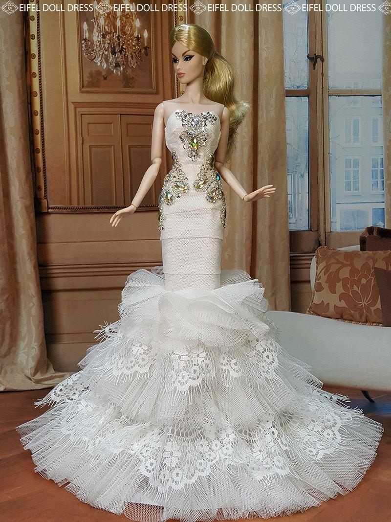 doll #evening #gowns eifel 85 flickr/ebay / 12.33.3 qw | Barbies ...