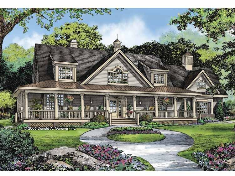 Country Style House Plan 3 Beds 3 5 Baths 2625 Sq Ft Plan 929 806 Ranch Style House Plans Country Style House Plans Ranch Style Homes