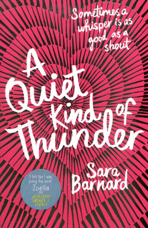 Jacket Image For A Quiet Kind Of Thunder This Book Library