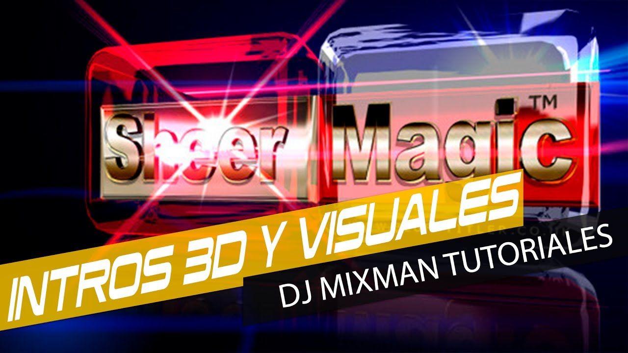 BluffTitler - Intros Y VIsuales 3d Tutorial basico 1 Mixman Dj
