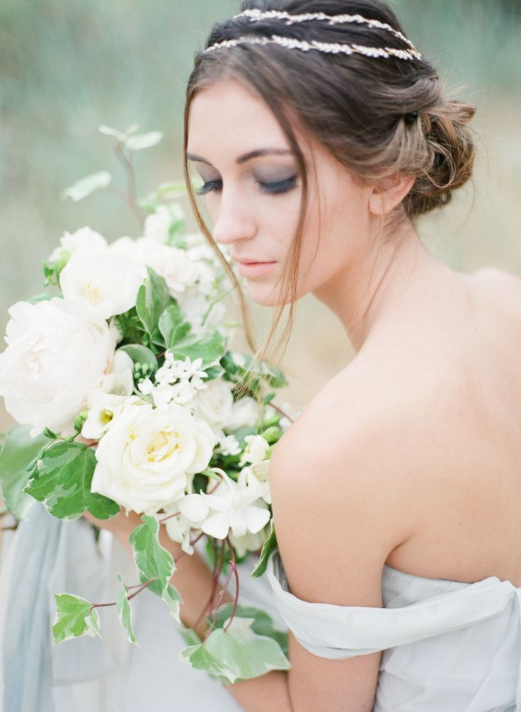 Ethereal Greek Goddess Inspired Wedding Editorial Goddess Party