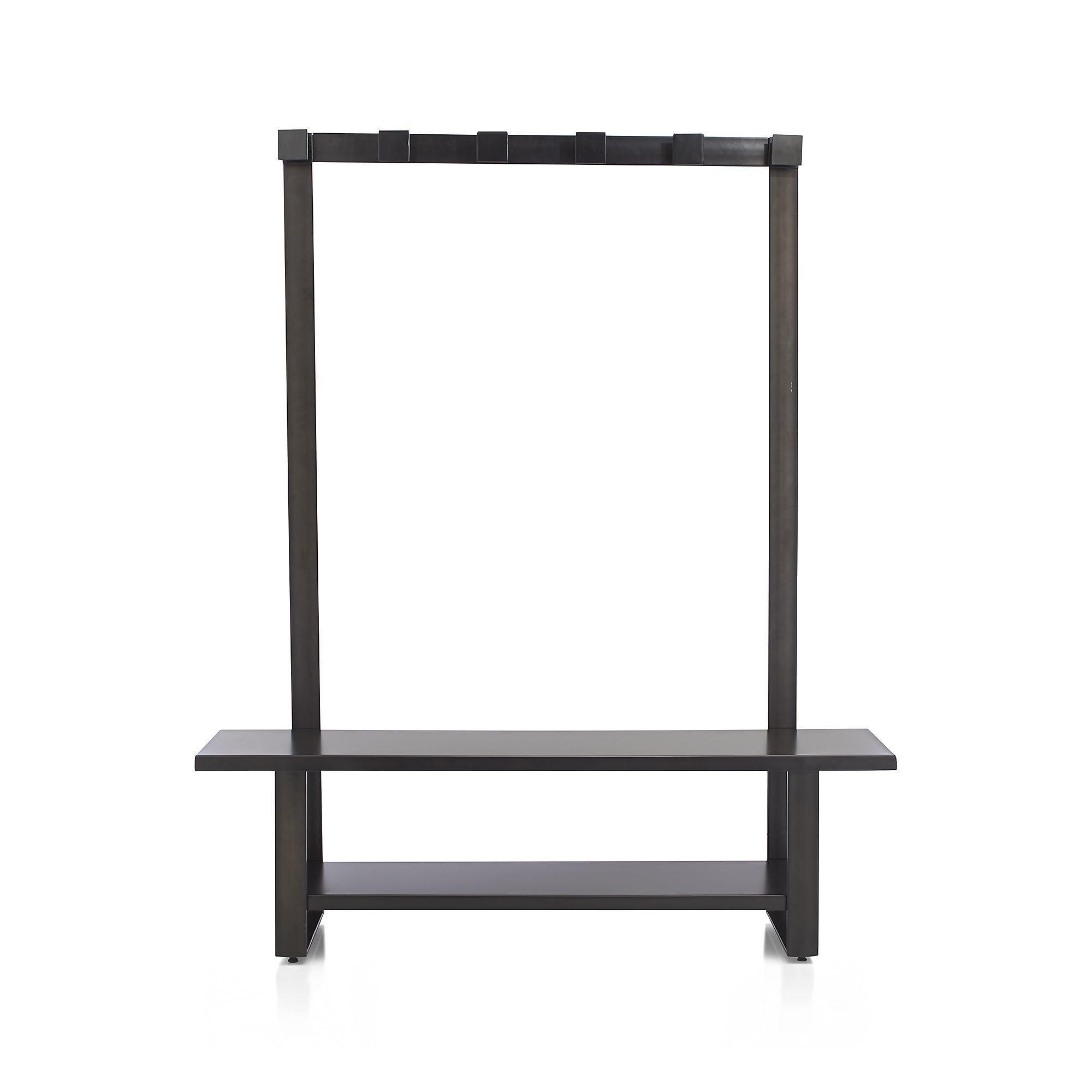 Welkom Hall Tree Bench With #Coat Rack by Crate & Barrel - Found on HeartThis.com @HeartThis | See item http://www.heartthis.com/product/329391569924265051/