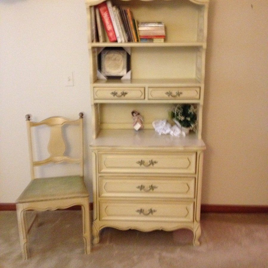 I Have Henry Link French Provincial Antique White With Gold Trim Age Be My Furniture Collection