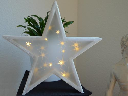 Beleuchteter Stern Mit 3d Hologramm Effekt Bastelrado Beleuchteter Stern Weihnachtsstern Basteln Weihnachtsstern Beleuchtet