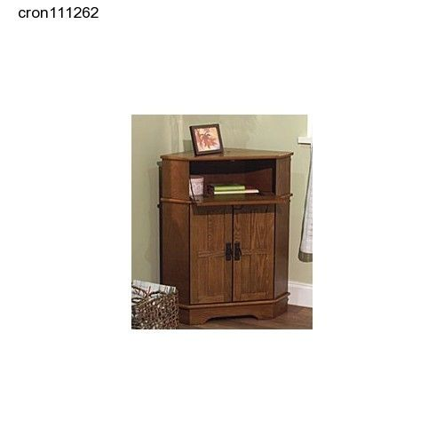 Storage Solutions Mission Corner Cabinet Wood Night Stand Kitchen Phone  Spacious
