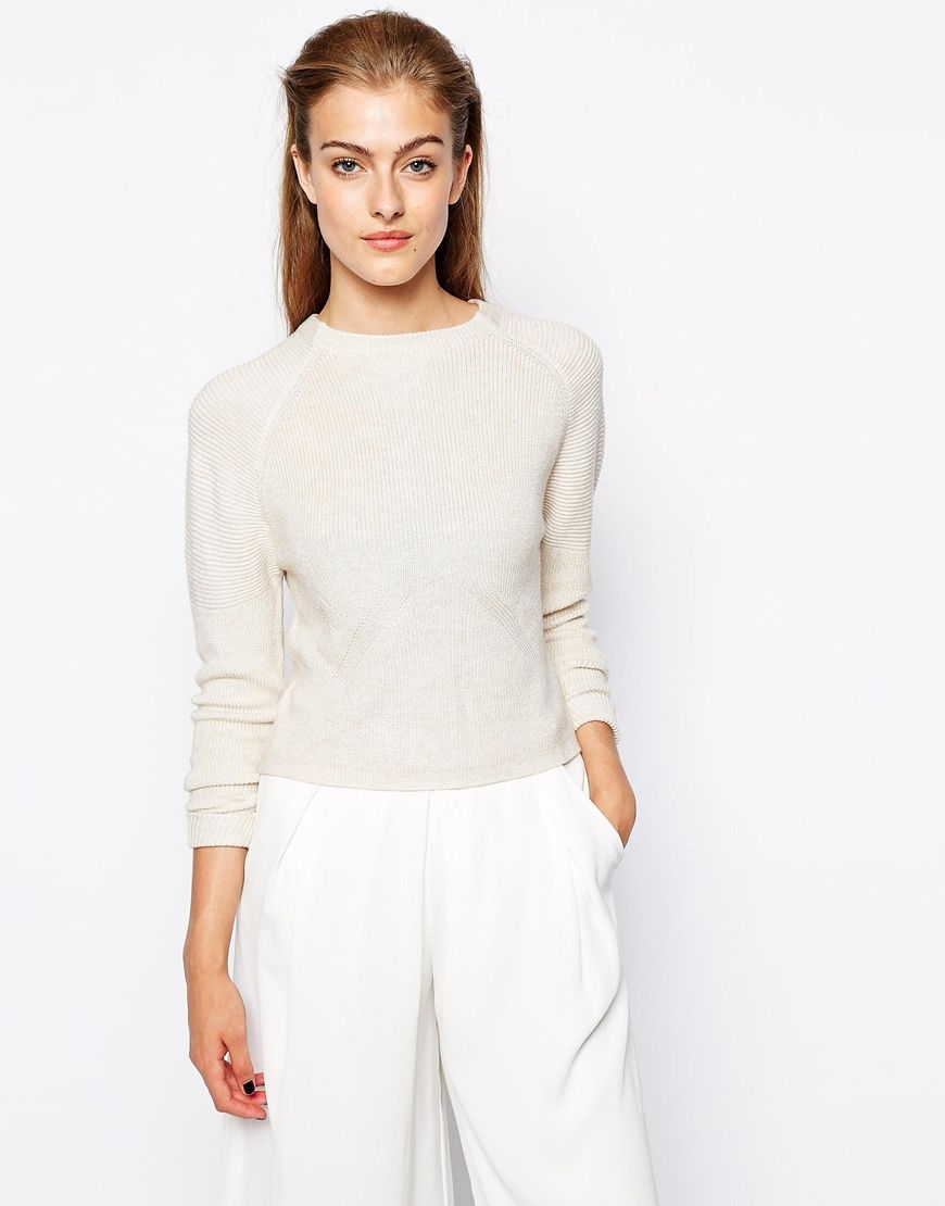 Mango+High+Neck+Knitted+Top