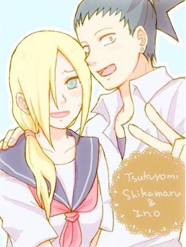 Ino and Shikamaru | Shikamaru, Naruto images, Naruto