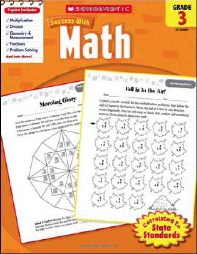 Scholastic Success With Math Grade 3 Scholastic Success With
