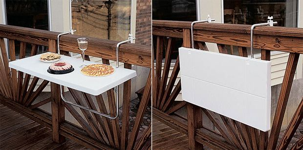 Fantastic Idea For A Small Balcony A Small Table For Anything Modern Interior And Decor Ideas Tiny Balcony Balcony Design Apartment Balcony Decorating