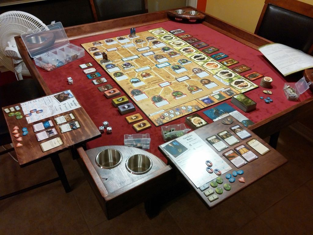 Thinking about building your own gaming table heres a guide to some of the best projects this one looks awesome