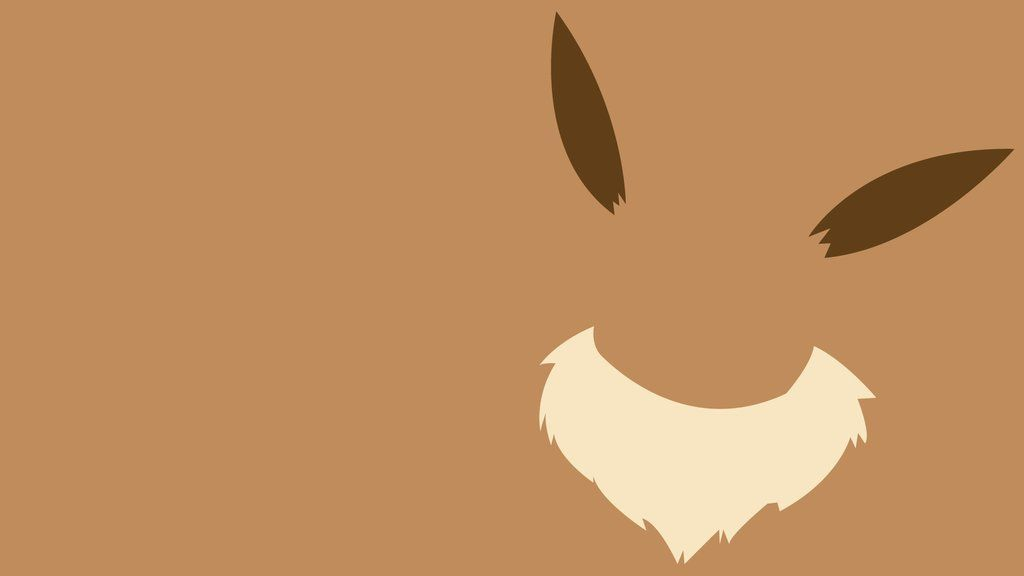 Minimalist Pokemon Wallpaper Eevee Wallpaper Pokemon Backgrounds Minimalist Wallpaper