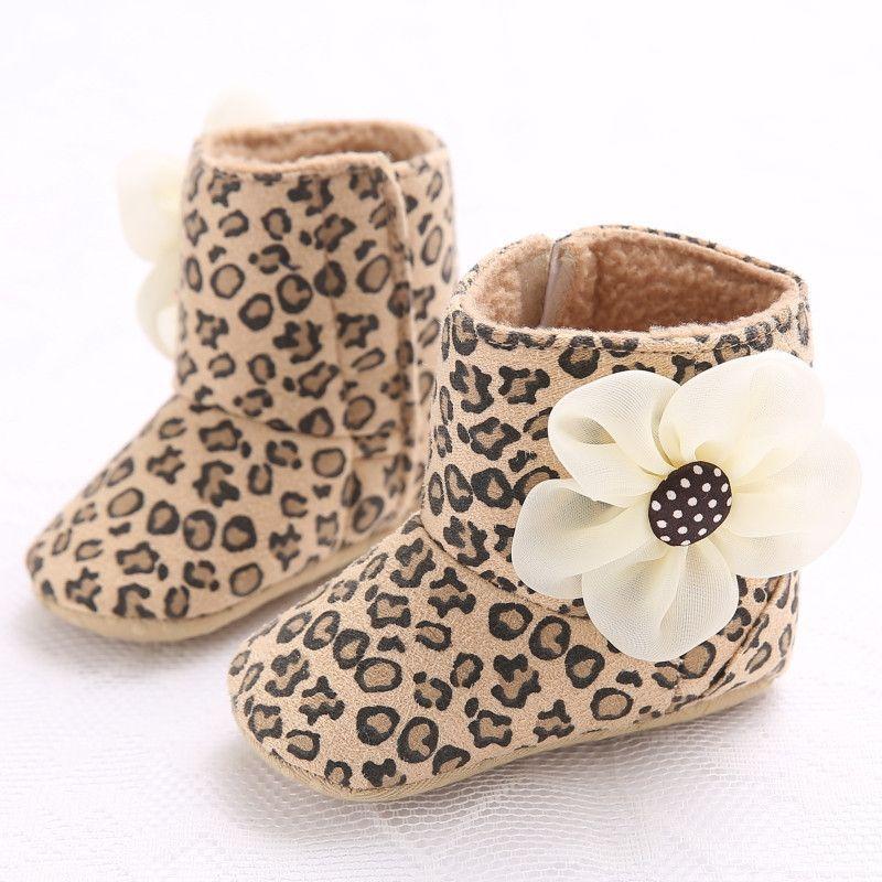 6daf2dba63a5 6 Color Kids Prewalker Winter Bebe Toddler Warm Snow Baby Boots Newborn  Infant Soft Soled Unisex High Top Shoes For Boys Girls