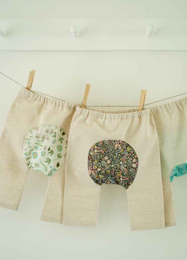 Corinne's Thread: Baby Pants - The Purl Bee - Sewing