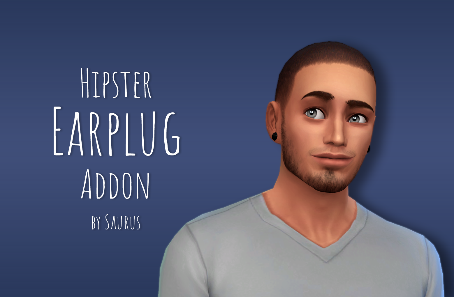 Mod The Sims - Hipster Earplug Addon | The sims 5@4 | Sims, Sims