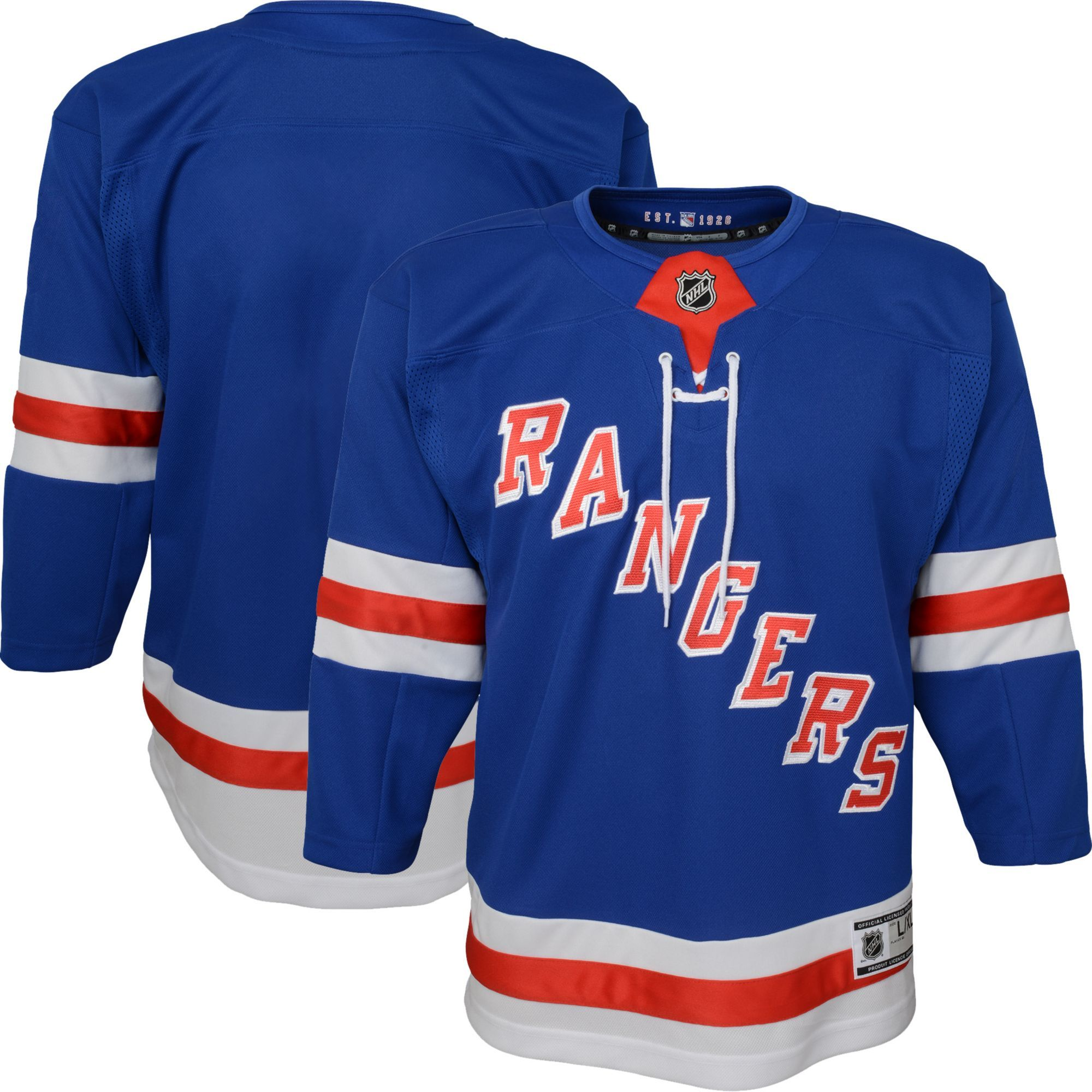 quality design ca548 05f6b NHL Youth New York Rangers Premier Home Jersey | Products ...