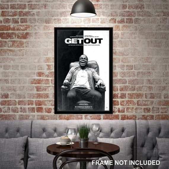 Get Out Movie Poster Home Decor Office Decor Digital