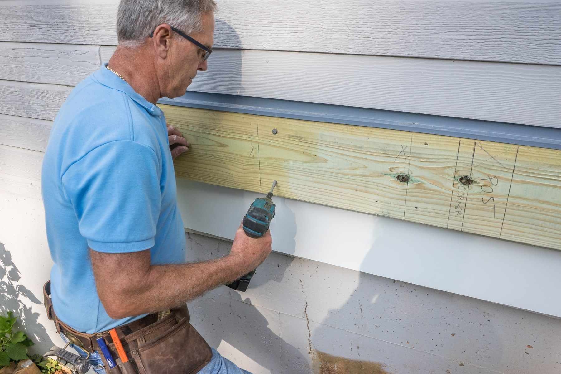 Learn How To Properly Install A Waterproof Deck Ledger Board Using Flashing  And Fasteners Check Out