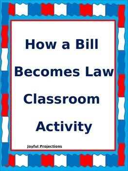 How a bill becomes law a classroom simulation 1 week plan how a bill becomes law a classroom simulation 1 week plan ccuart Gallery