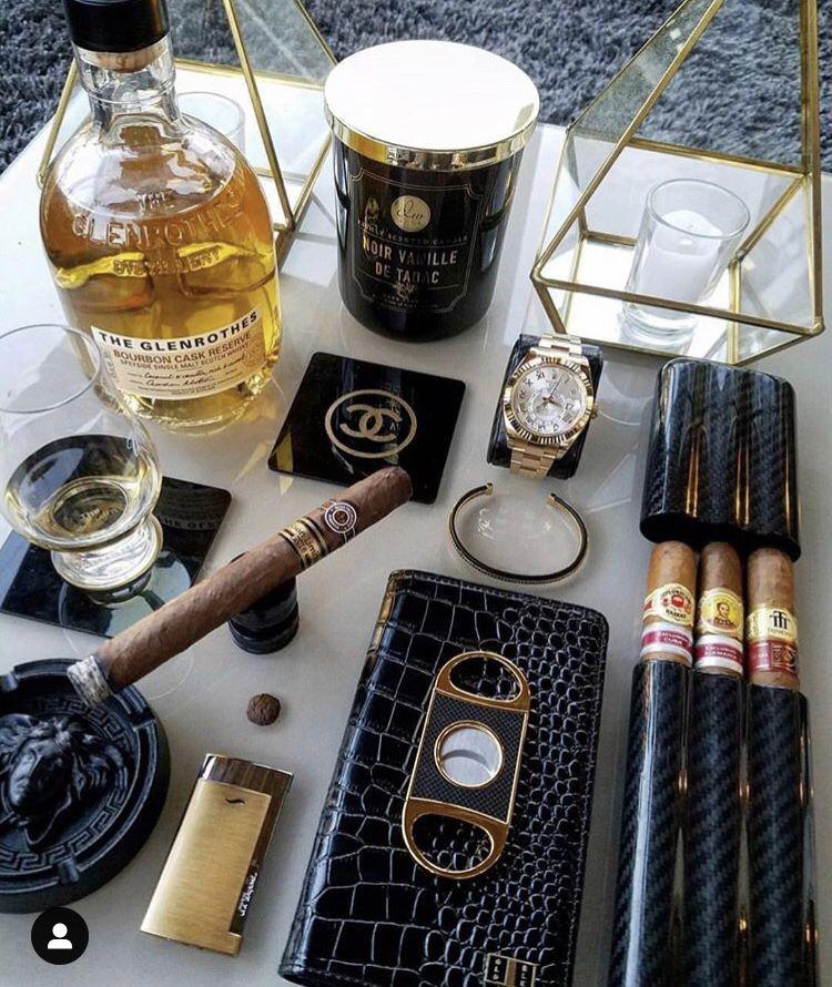 rich man accessories