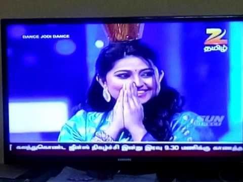 Sneha danced at dance jodi dance in zee tamil | tamil movies