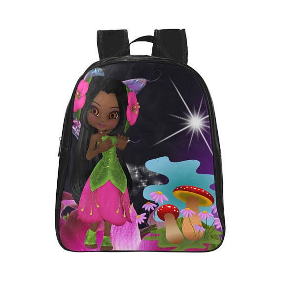 Personalised Book Bag Backpacks For Girls Toddlers  e795ddda2387f