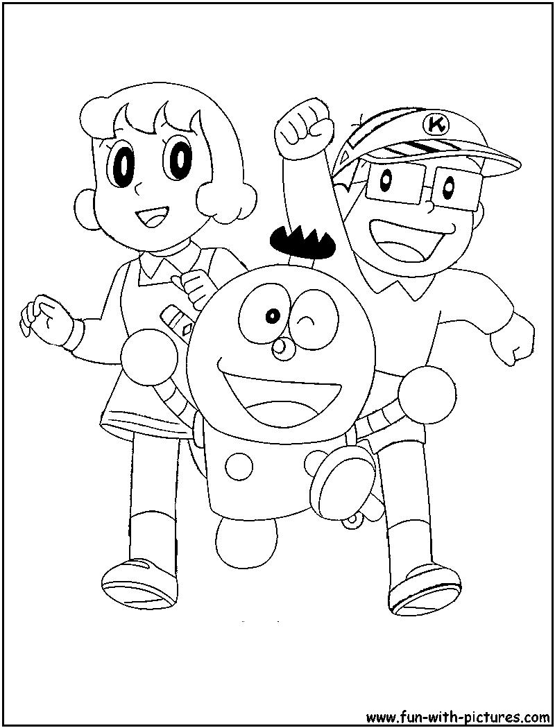 kiteretsu coloring page remember this pinterest cartoon
