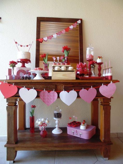 Love / Romance Valentine's Day Party Ideas | Photo 1 of 15