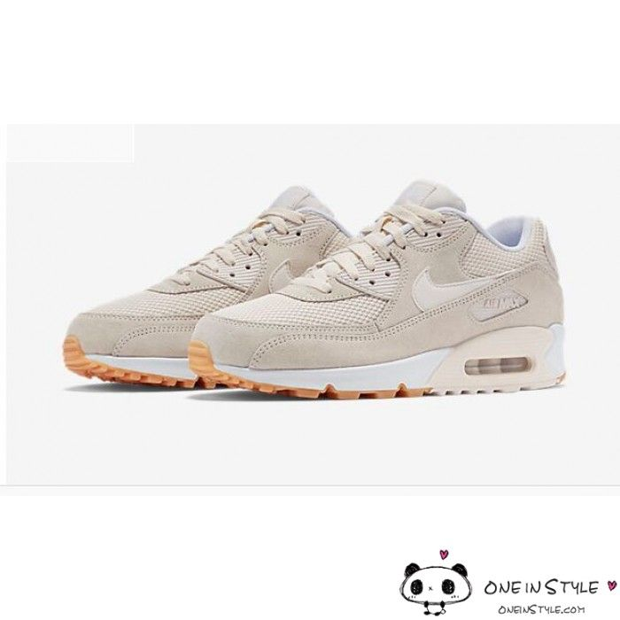 5212ea940eaf Nike Air Max 90 Womens Mens Shoes Hyperfuse Nude White