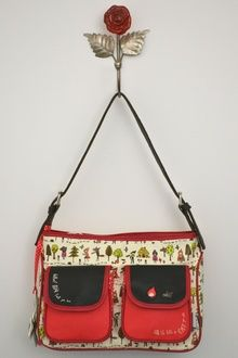 7fbb79d74c78 Disaster designs once upon a time red riding hood handbag from  www.agnesandcecil.com