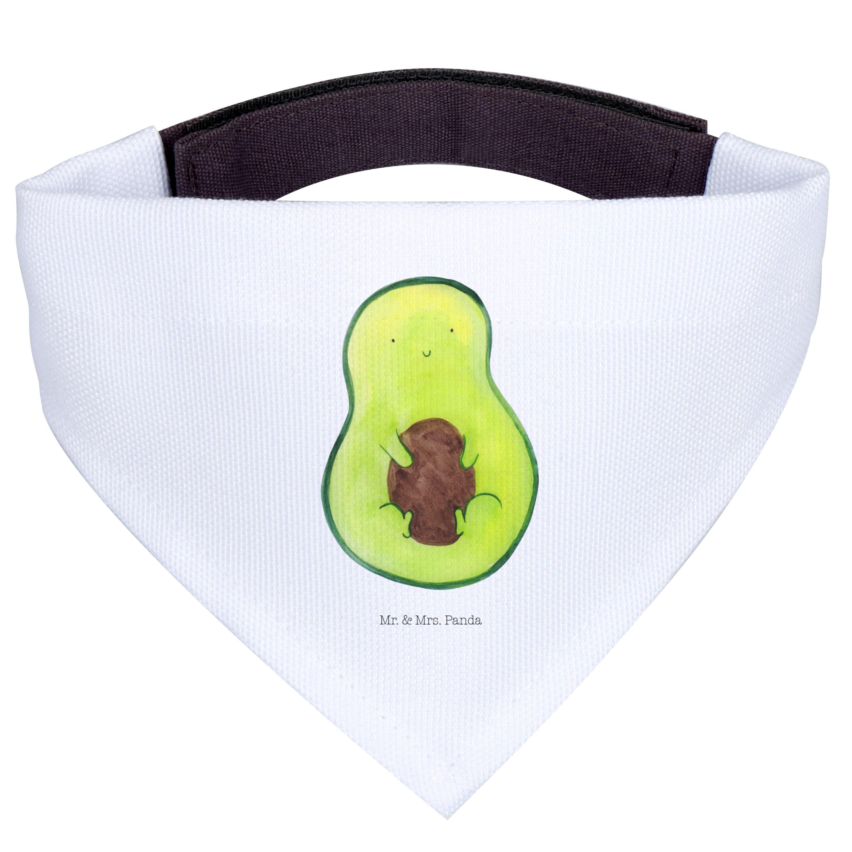 Hundehalstuch M Avocado mit Kern