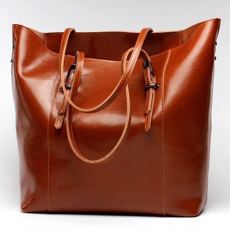Women Handbag Genuine Leather Shoulder Bag Female Bags Cowhide ...