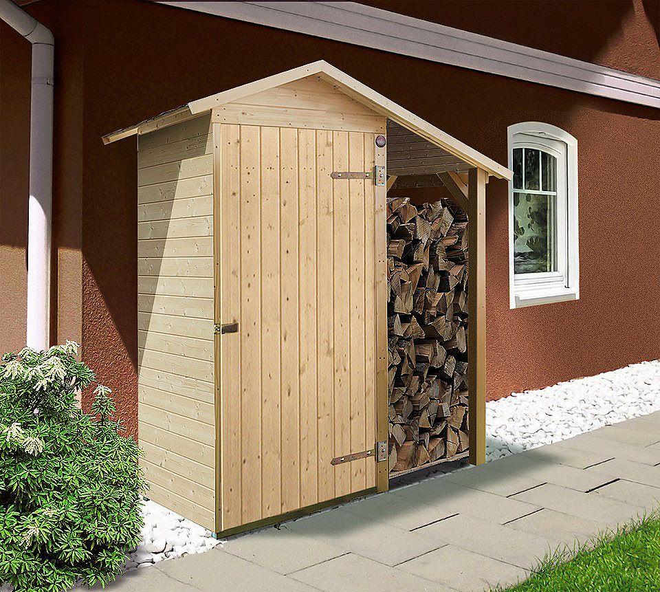 weka ger teschrank gr 1 b t h 142 85 196 cm gartenhaus. Black Bedroom Furniture Sets. Home Design Ideas