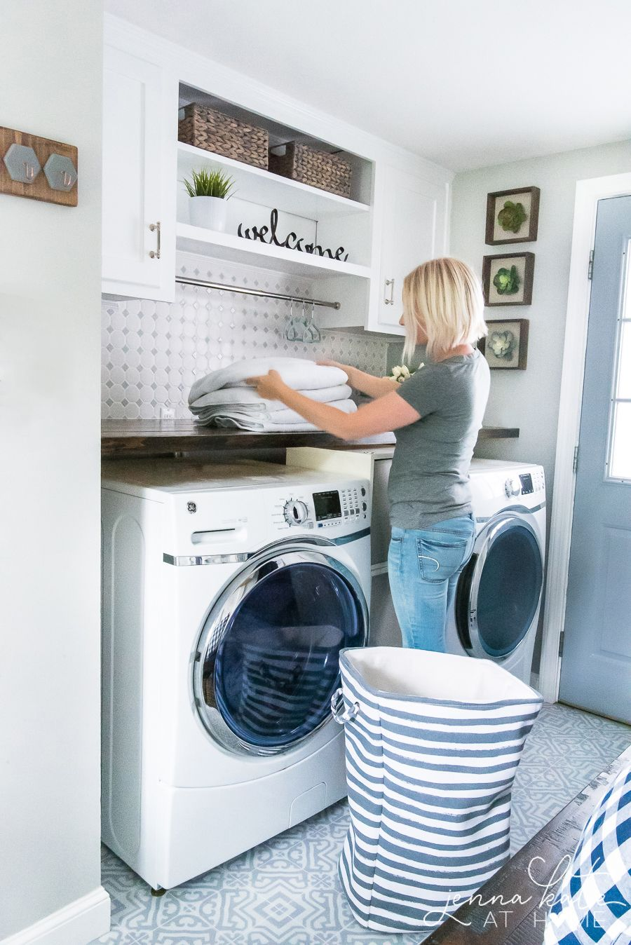Laundry Room Makeover Reveal Laundry Room Diy Diy Laundry Room