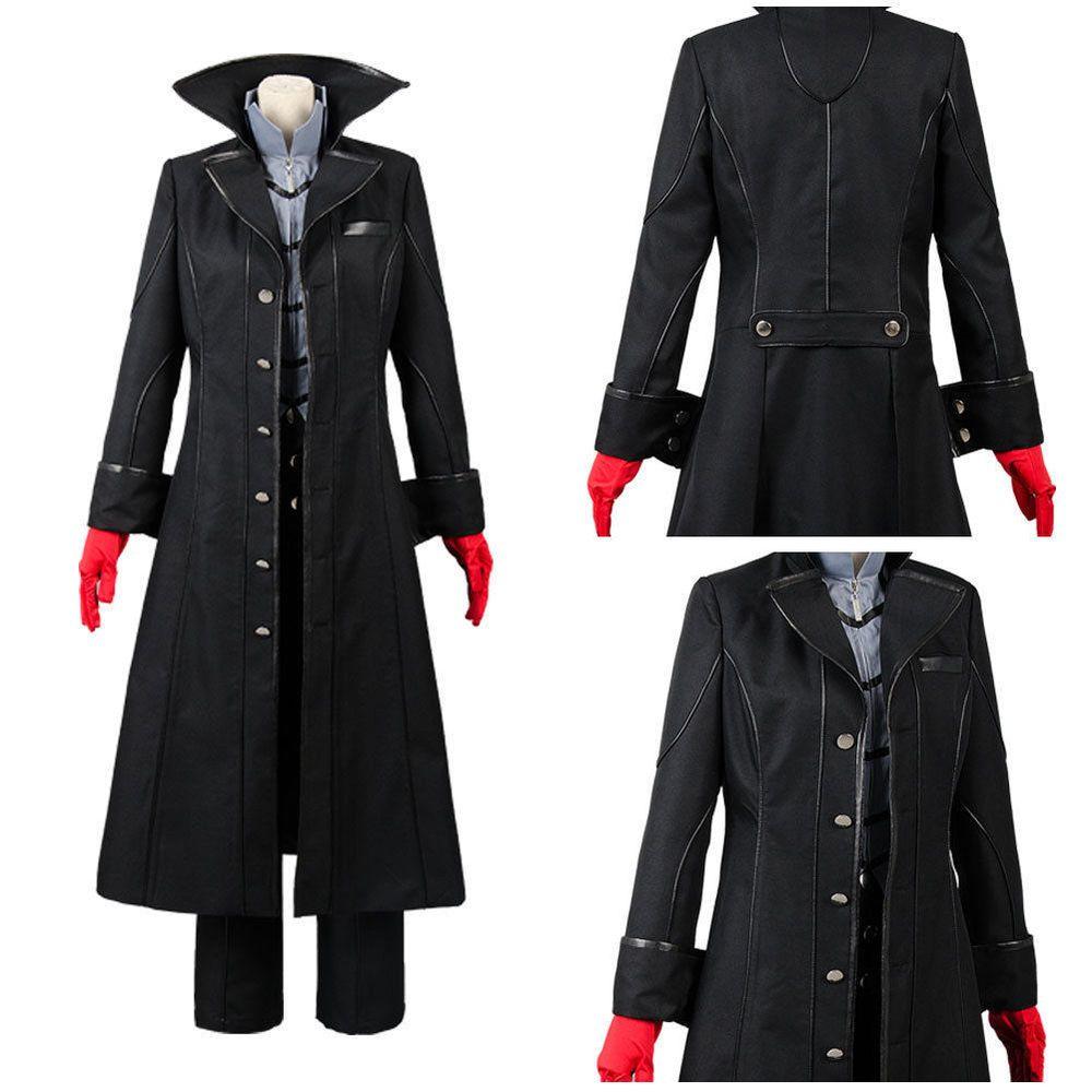Persona 5 P5 Hero Arsene Joker Anime Hoodie Sweatshirt Print Jacket Cosplay Coat