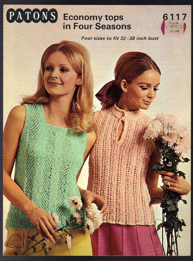 Woman knitted set pattern 70/'s knitting pattern. socks pattern PDF pattern knitting Vintage knitting pattern Knitted sweater shorts