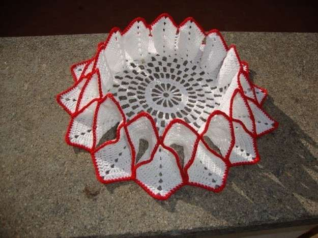 Regali Di Natale Alluncinetto.Regali Di Natale Fai Da Te All Uncinetto Centrotavola Crochet