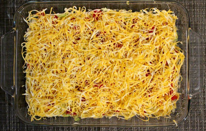 Oh So Easy Cold Taco Dip Recipe Only Six Ingredients