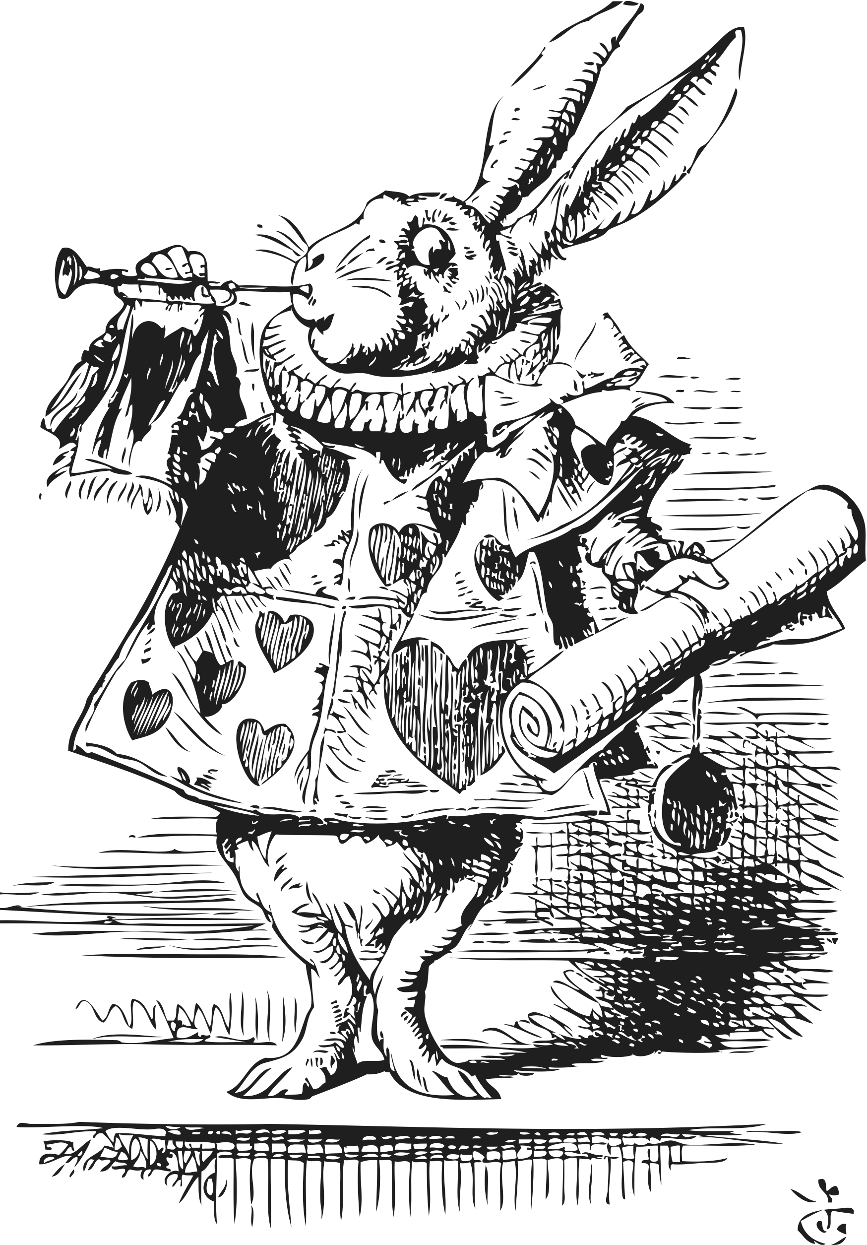 an analysis of the character of alice from lewis carrolls alice in wonderland For the 1951 character of the same name and is based on a poem by lewis carroll called jabberwocky alice in wonderland the jabberwocky.