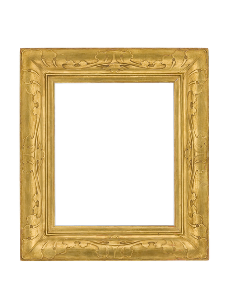 American Taos Style Gilt Frame by the Newcomb-Macklin Company   The ...