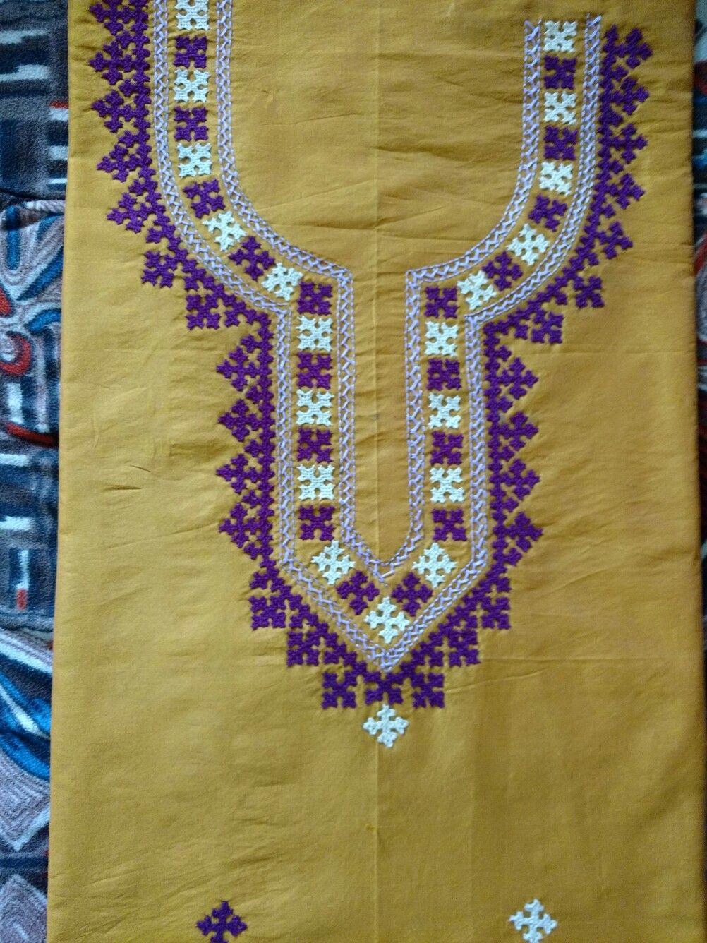 Hand Embroidery Chadar | Ausbeta.com