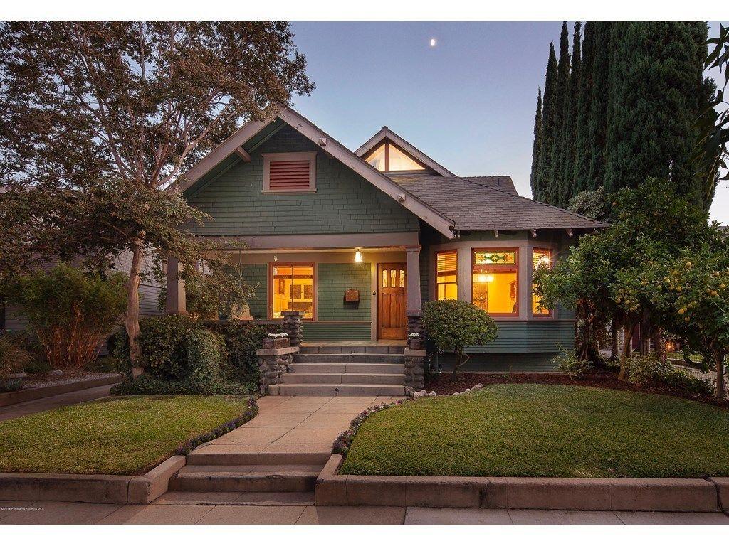 1313 Spruce St South Pasadena Ca 91030 3 Beds 2 Baths Craftsman Bungalows South Pasadena House Styles