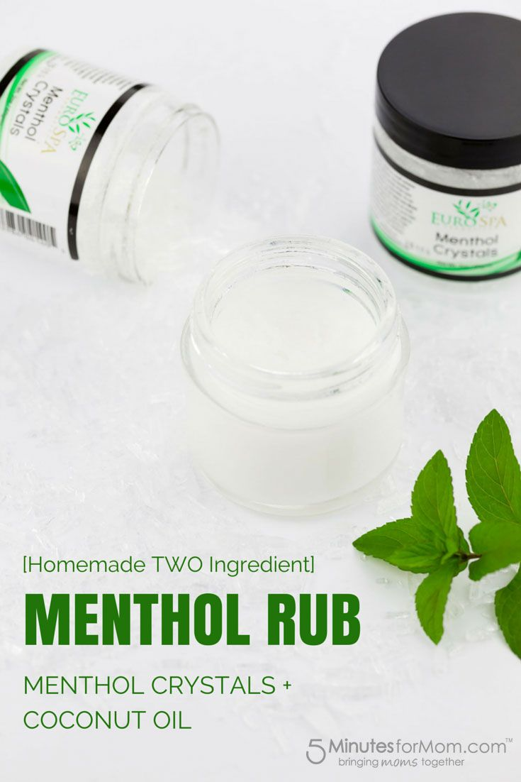 How to Use Menthol Crystals and Make Homemade Menthol Rub