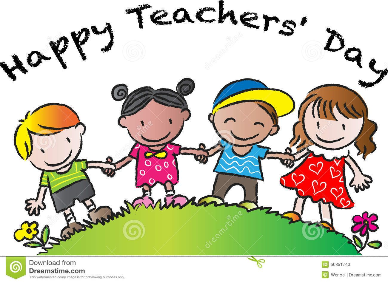 Happy Teachers Day Vector Drawing Card 50851740 Jpg 1300 949 Teachers Day Drawing Teachers Day Happy Teachers Day