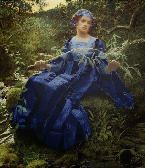 ART BLOG: Lexden Lewis Pocock : The Fresh Streams Ran by Her...