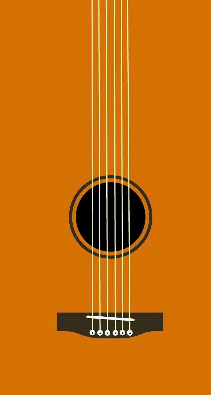 String Time Minimal Stuff Iphone Wallpaper Wallpaper Guitar